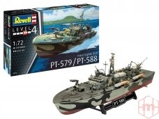 Revell - Patrol Boat PT-588 / PT-579 Late, Mastelis: 1/72, 05165