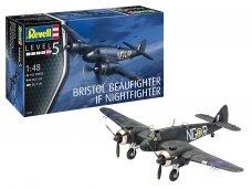 Revell - Bristol Beaufighter Mk.IF Nightfighter, Mastelis: 1/48, 03854