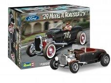 Revell - 1929 Ford Model A Roadster, 1/25, 14463