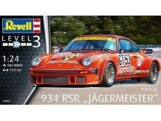 "Revell - Porsche 934 RSR ""Jägermeister"", Mastelis: 1/24, 07031"