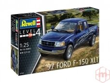 Revell - '97 Ford F-150 XLT, Scale: 1/24, 07045