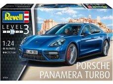 Revell - Porsche Panamera Turbo, Mastelis: 1/24, 07034