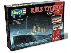 Revell - R.M.S. Titanic dovanų komplektas, 1/1200 ir 1/700, 05727