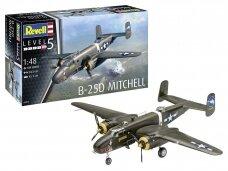 Revell - B-25D Mitchell, Mastelis: 1/48, 04977
