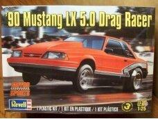 Revell - '90 Mustang LX 5.0 Drag Racer, Scale: 1/25, 14195