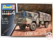 Revell - LKW 5t. mil gl (4x4 Truck), Scale: 1/35, 03257
