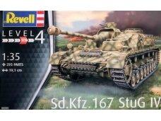 "Revell - Sd.Kfz. 167 ""StuG IV"", Scale: 1/35, 03255"