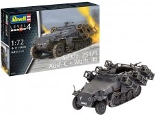 Revell - Sd.Kfz. 251/1 Ausf. C + Wurfr. 4, Scale: 1/72, 03324