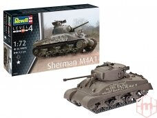 Revell - Sherman M4A1, 1/72, 03290