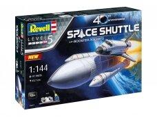 Revell - Space Shuttle & Booster Rockets Model Set, 1/144, 05674