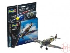 Revell - Spitfire Mk.IIa Model Set, Scale: 1/72, 63953
