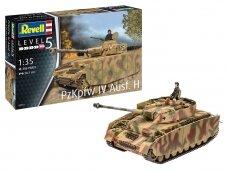 Revell - Panzer IV Ausf. H, Mastelis: 1/35, 03333