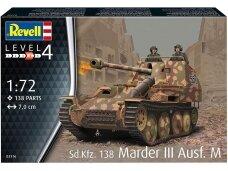 Revell - Sd.Kfz.138 Marder III Ausf.M, 1/72, 03316
