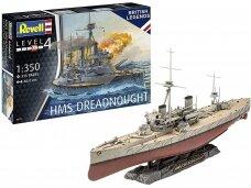 Revell - British Legends: HMS Dreadnought, 1/350, 05171
