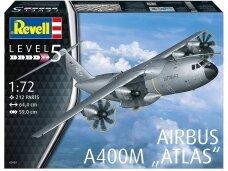 "Revell - Airbus A400M ""Atlas"", Mastelis: 1/72, 03929"