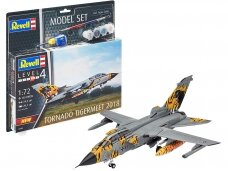 Revell - Tornado ECR Tigermeet 2018 Model Set, Scale: 1/72, 63880
