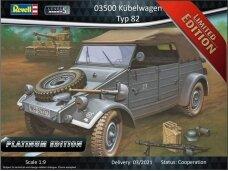 Revell - Kübelwagen Typ 82 Platinum Edition, Scale: 1/9, 03500