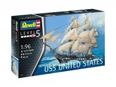 Revell - USS United States, Scale: 1/96, 05606