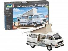 Revell - Volkswagen T3 Camper, Mastelis: 1/25, 07344