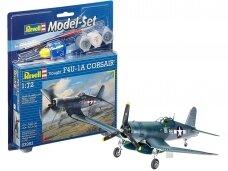 Revell - Vought F4U-1A Corsair Model Set, 1/72, 63983