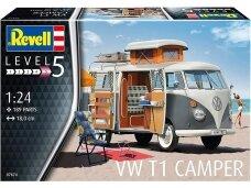Revell - VW T1 Camper, 1/24, 07674
