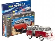 Revell - VW T1 Samba Bus Model Set, 1/24, 67399