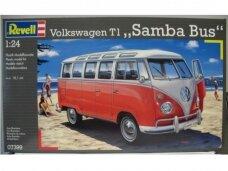 Revell - VW T1 Samba Bus, Scale: 1/24, 07399