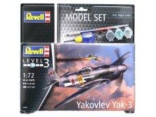 Revell - Yakovlev Yak-3 Model Set, Scale: 1/72, 63894