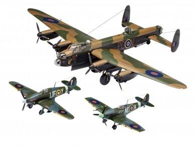 Revell - 100 Years RAF: British Legends dovanų komplektas, Mastelis: 1/72, 05696 5