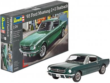 Revell - 1965 Ford Mustang 2+2 Fastback, Mastelis: 1/24, 07065