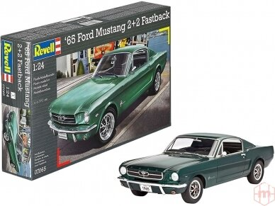 Revell - 1965 Ford Mustang 2+2 Fastback, Mastelis: 1/24, 07065