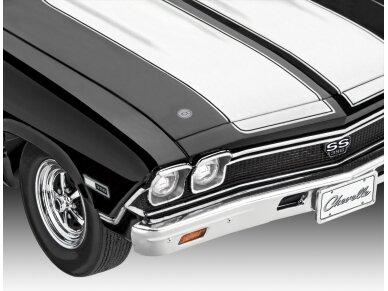 Revell - 1968 Chevy Chevelle, Mastelis: 1/25, 07662 5
