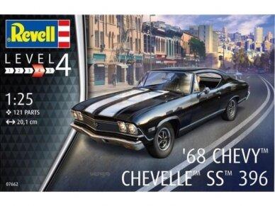 Revell - 1968 Chevy Chevelle, Mastelis: 1/25, 07662