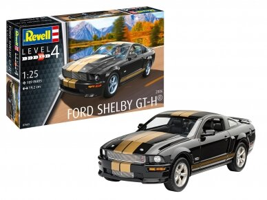 Revell - 2006 Ford Shelby GT-H, Mastelis: 1/25, 07665 2