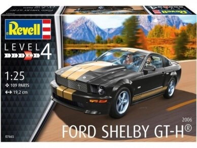 Revell - 2006 Ford Shelby GT-H, Mastelis: 1/25, 07665