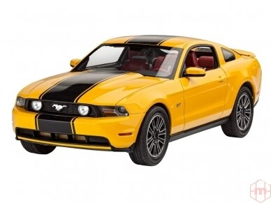 Revell - 2010 Ford Mustang GT dovanų komplektas, Mastelis: 1/25, 67046 2