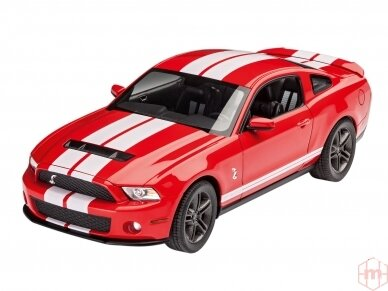 Revell - 2010 Ford Shelby GT 500, Mastelis: 1/25, 07044 2