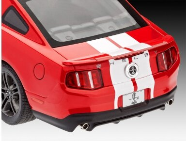 Revell - 2010 Ford Shelby GT 500, Mastelis: 1/25, 07044 3