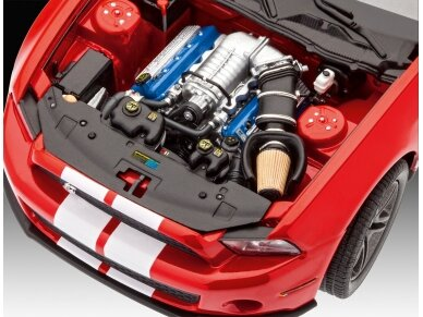 Revell - 2010 Ford Shelby GT 500, Mastelis: 1/25, 07044 4
