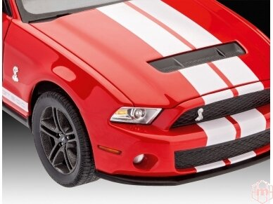 Revell - 2010 Ford Shelby GT 500, Mastelis: 1/25, 07044 5