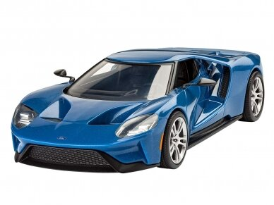 Revell - 2017 Ford GT (easy-click), Mastelis: 1/24, 07678 2