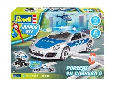 "Revell - JUNIOR KIT Porsche  911 ""Police"", Mastelis: 1/20, 00818 2"
