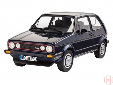 Revell - 35 Years VW Golf 1 GTI Pirelli dovanų komplektas, Mastelis: 1/24, 05694 3