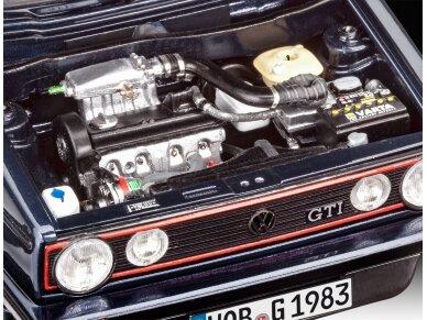 Revell - 35 Years VW Golf 1 GTI Pirelli dovanų komplektas, Mastelis: 1/24, 05694 5