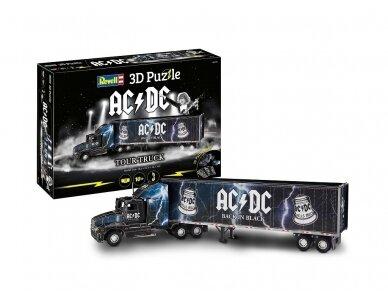 Revell - 3D Puzzle AC/DC Tour Truck, 00172