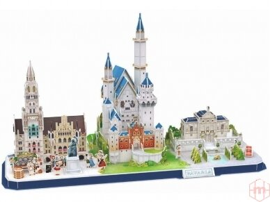 Revell - 3D Dėlionė Bavarian Skyline, 00143 2