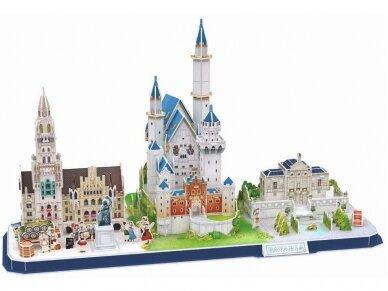 Revell - 3D Puzzle Bavarian Skyline, 00143 2