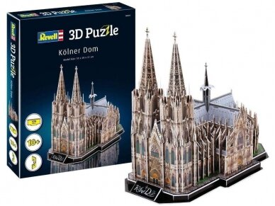 Revell - 3D Puzzle Cologne Cathedral, 00203