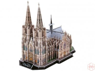 Revell - 3D Dėlionė Cologne Cathedral, 00203 2