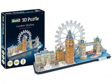 Revell - 3D Puzzle London Skyline, 00140